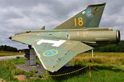 35598 - Sweden - Air Force SAAB J 35J Draken aircraft
