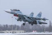 - - Russia - Air Force Sukhoi Su-30SM aircraft