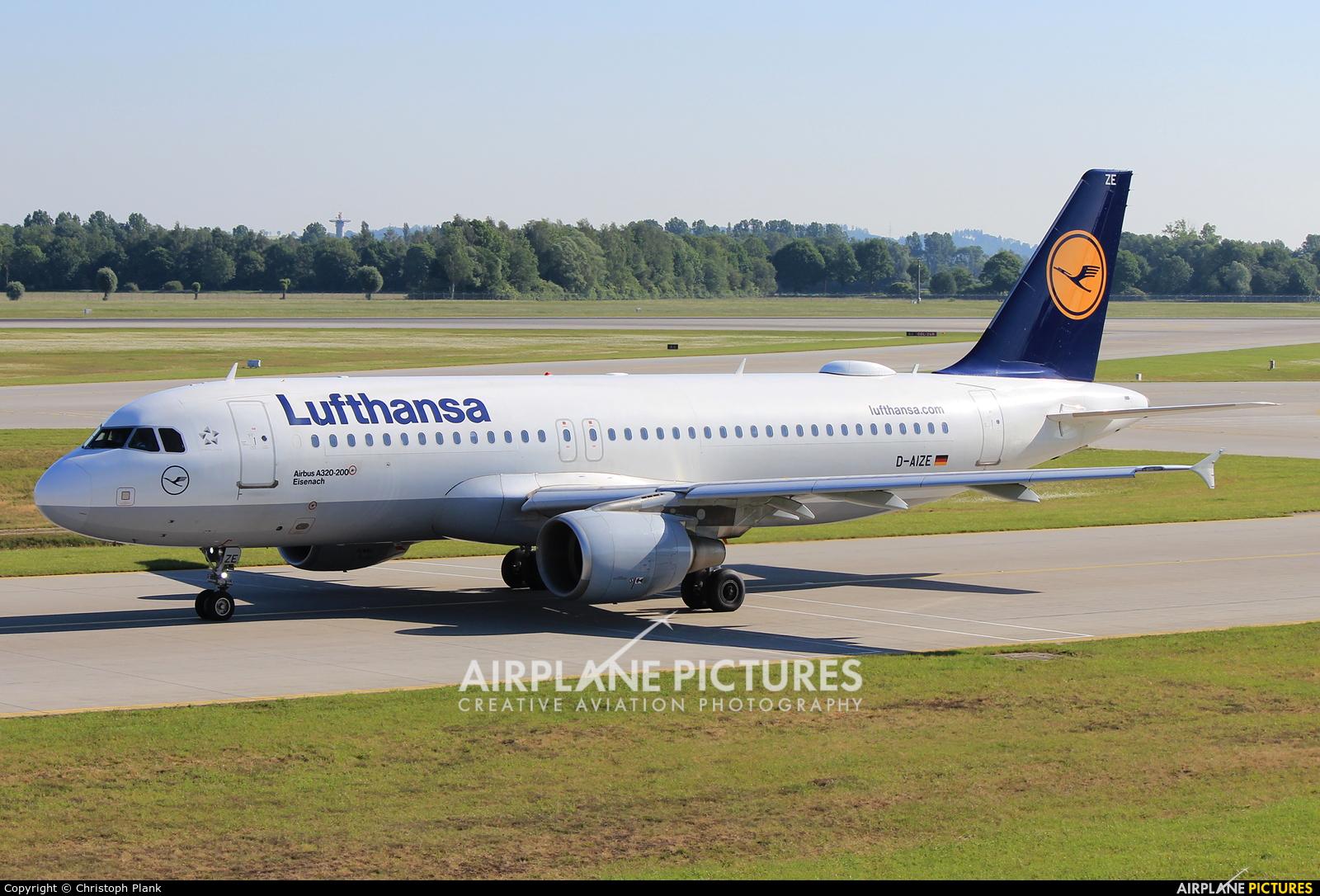 Lufthansa D-AIZE aircraft at Munich