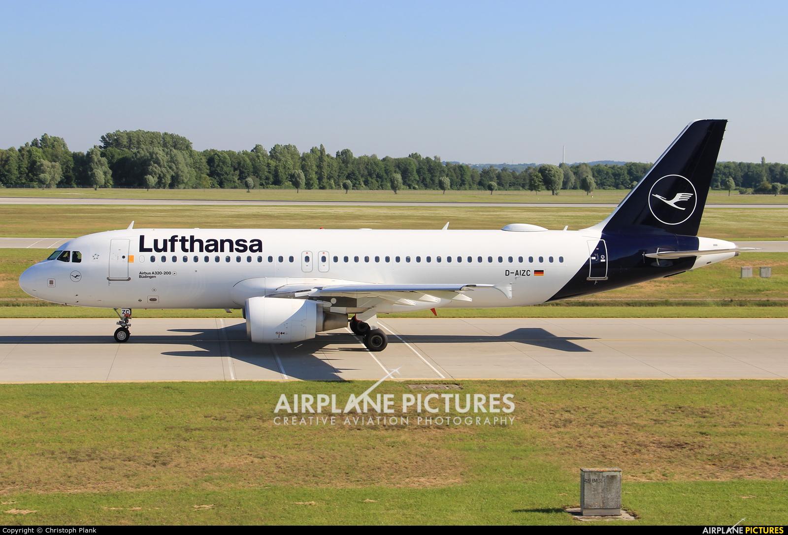 Lufthansa D-AIZC aircraft at Munich