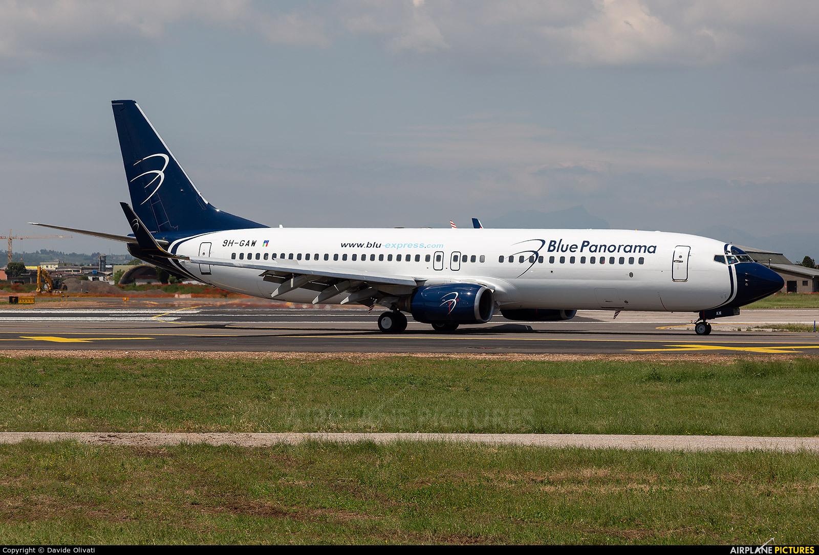 Blue Panorama Airlines 9H-GAW aircraft at Verona - Villafranca