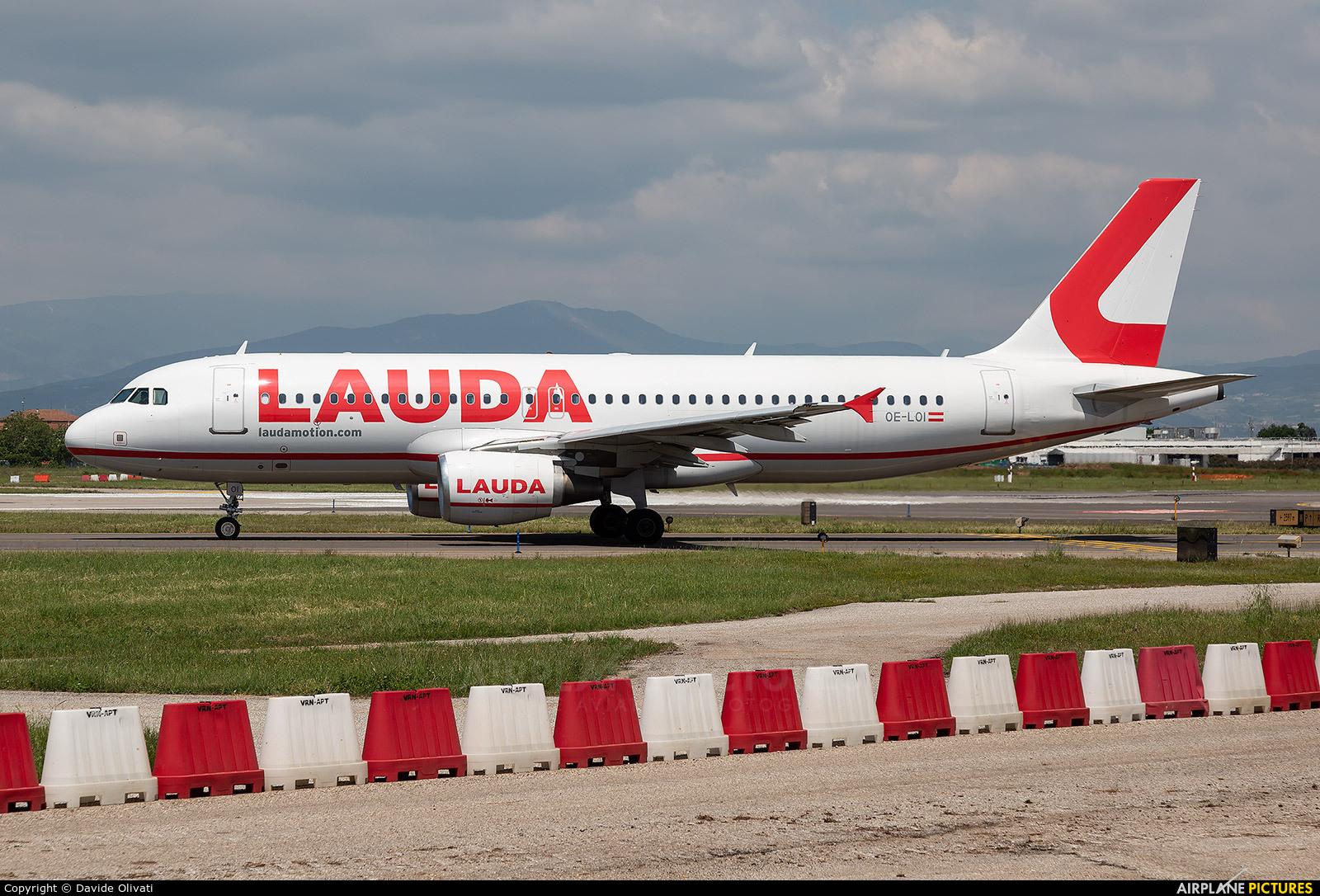 LaudaMotion OE-LOI aircraft at Verona - Villafranca