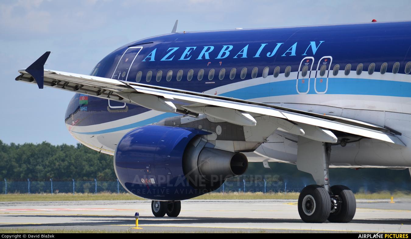 Azerbaijan Airlines 4K-AZ79 aircraft at Prague - Václav Havel