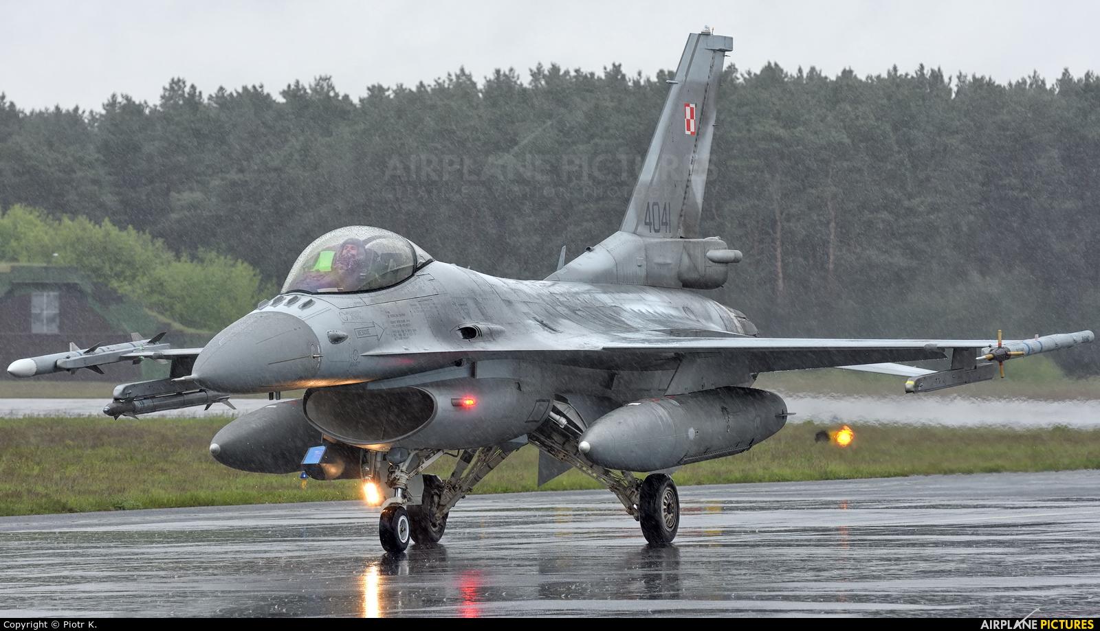 Poland - Air Force 4041 aircraft at Bydgoszcz - Szwederowo