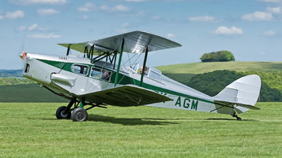 ZK-AGM - Private de Havilland DH. 83 Fox Moth