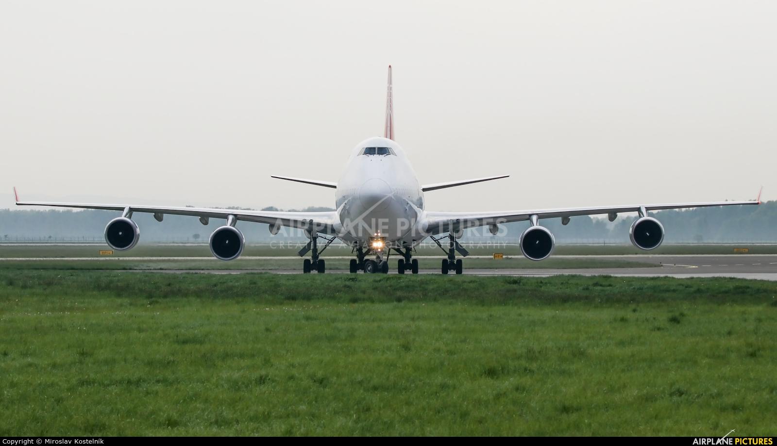Air Cargo Global OM-ACB aircraft at Ostrava Mošnov