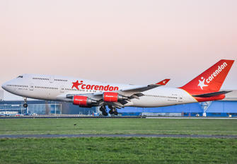 PH-BFB - Corendon Dutch Airlines Boeing 747-400