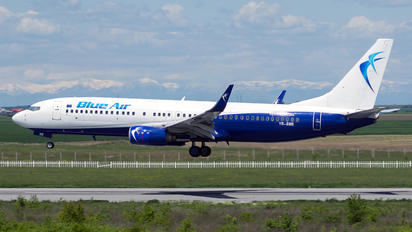 YR-BMB - Blue Air Boeing 737-800
