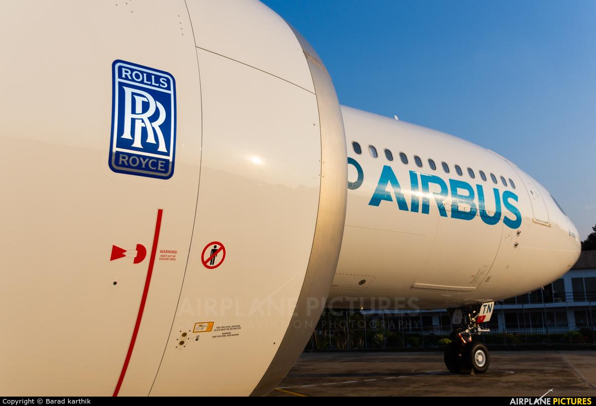 Airbus Industrie F-WTTN aircraft at Yelahanka AFB
