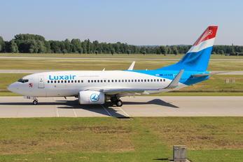 LX-LGS - Luxair Boeing 737-700