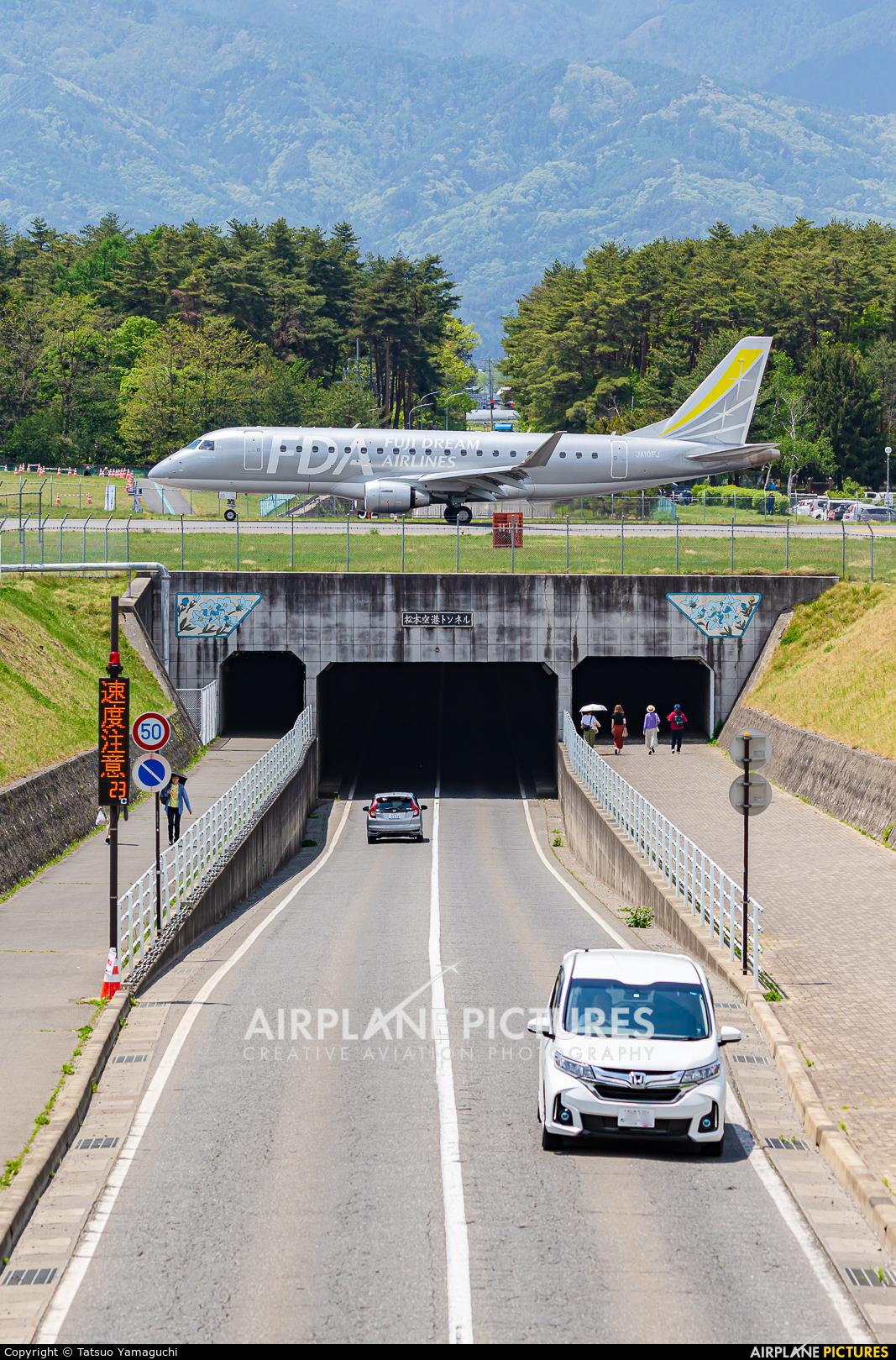 Fuji Dream Airlines JA10FJ aircraft at Shinshu - Matsumoto