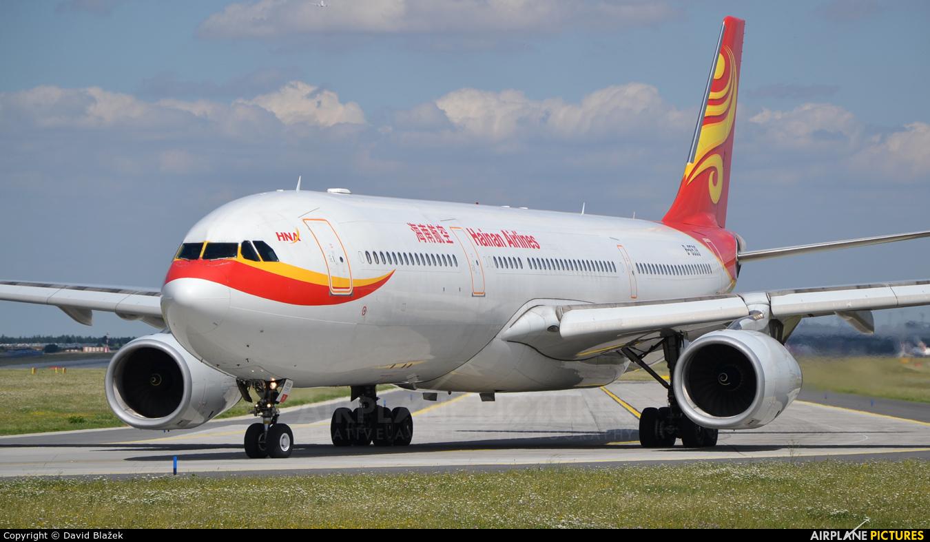 Hainan Airlines B-6539 aircraft at Prague - Václav Havel