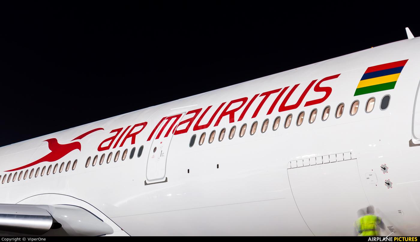 Air Mauritius 3B-NBU aircraft at Mumbai - Chhatrapati Shivaji Intl
