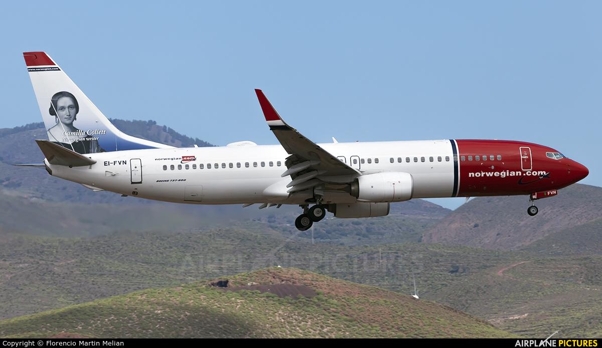Norwegian Air International EI-FVN aircraft at Aeropuerto de Gran Canaria