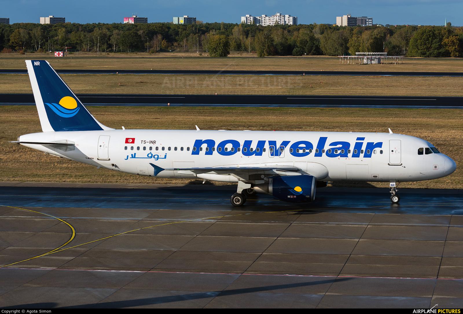 Nouvelair TS-INR aircraft at Berlin - Tegel
