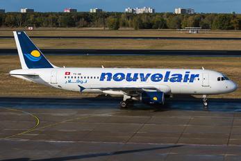 TS-INR - Nouvelair Airbus A320