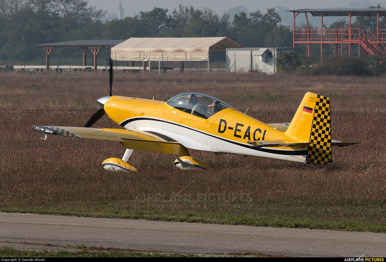 Private D-EACL aircraft at Verona - Boscomantico
