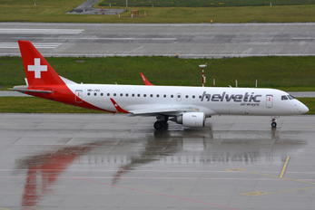 HB-JVU - Helvetic Airways Embraer ERJ-190 (190-100)
