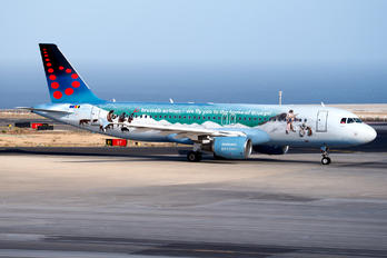 OO-SNE - Brussels Airlines Airbus A320