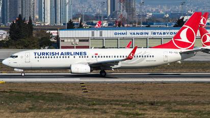 TC-JVE - Turkish Airlines Boeing 737-800