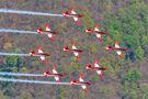 Switzerland - Air Force: PC-7 Team Pilatus PC-7 I & II A-913 at Locarno airport