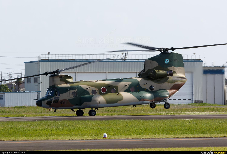 Japan - Air Self Defence Force 57-4491 aircraft at Shizuhama AB
