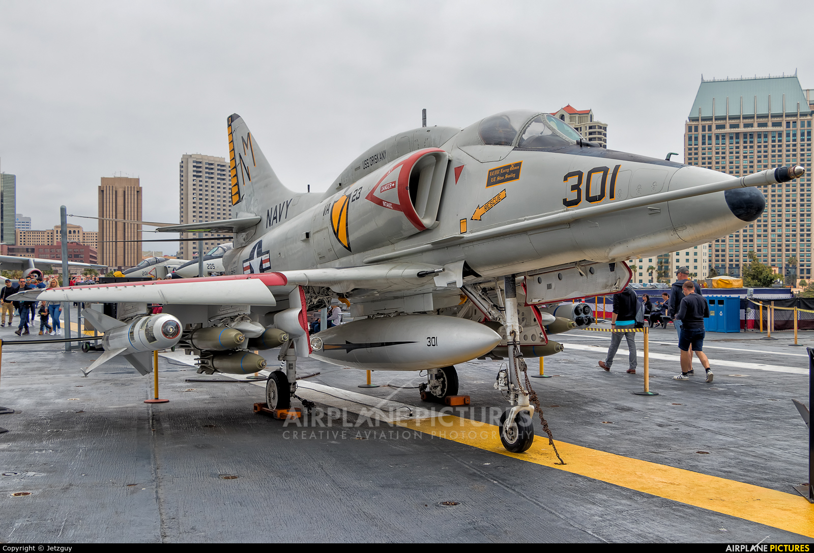 USA - Navy 154977 aircraft at San Diego - USS Midway Museum