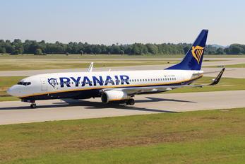 EI-DWS - Ryanair Boeing 737-800