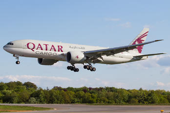A7-BFM - Qatar Airways Cargo Boeing 777F