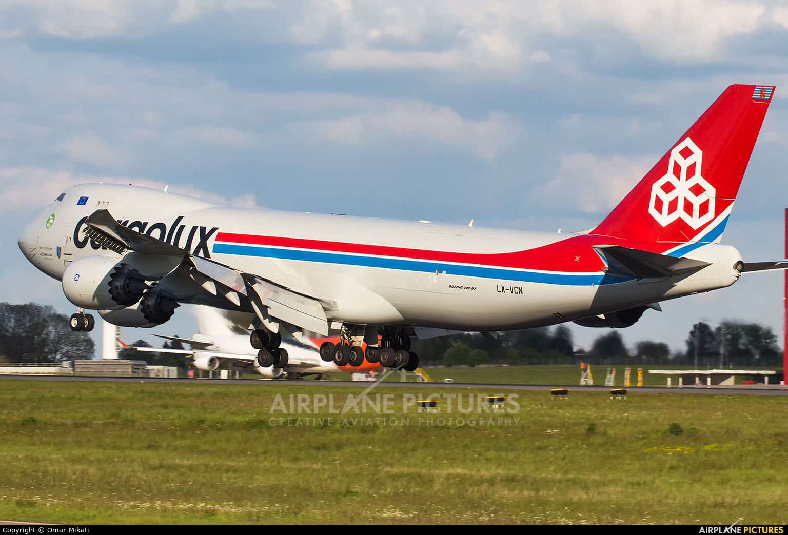 Cargolux LX-VCN aircraft at Luxembourg - Findel