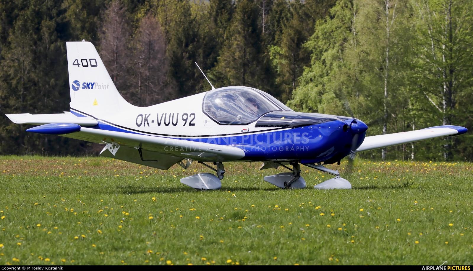 Private OK-VUU92 aircraft at Letiště Frýdlant nad Ostravicí