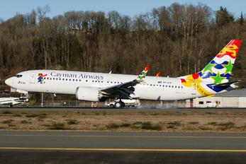 VP-CIX - Cayman Airways Boeing 737-8 MAX