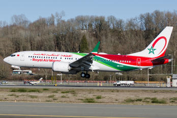 CN-MAY - Royal Air Maroc Boeing 737-8 MAX