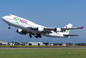 Wamos Boeing 747 operates for Neos title=