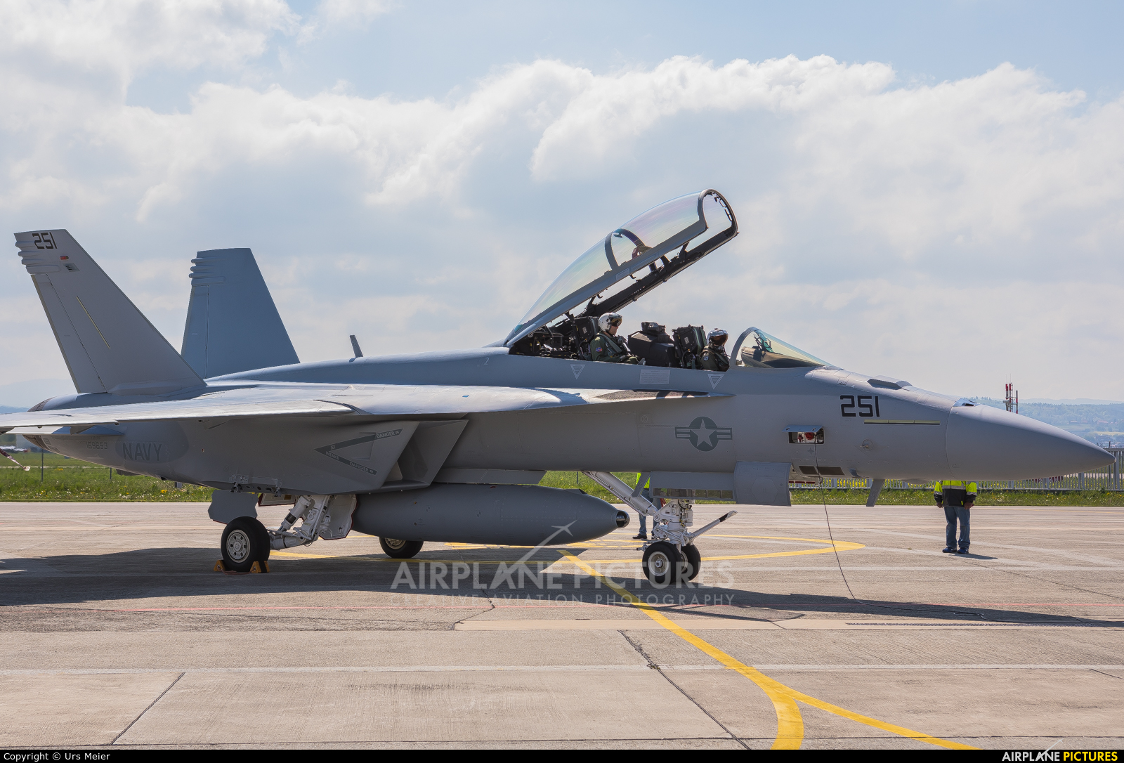 USA - Navy 251 aircraft at Payerne