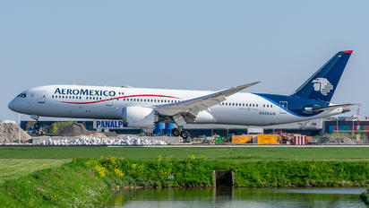 N438AM - Aeromexico Boeing 787-9 Dreamliner
