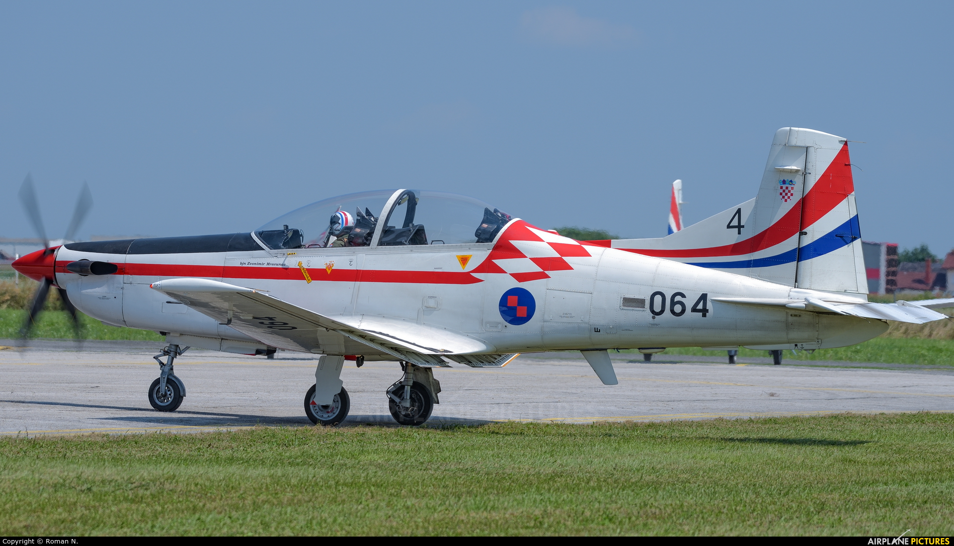 Croatia - Air Force 064 aircraft at Varazdin