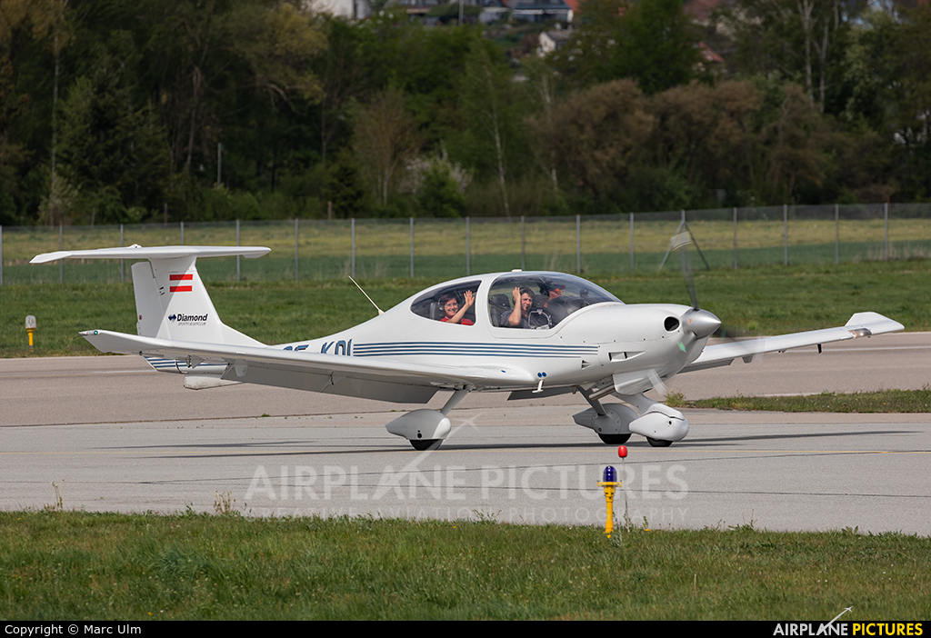 Private OE-KDI aircraft at Augsburg