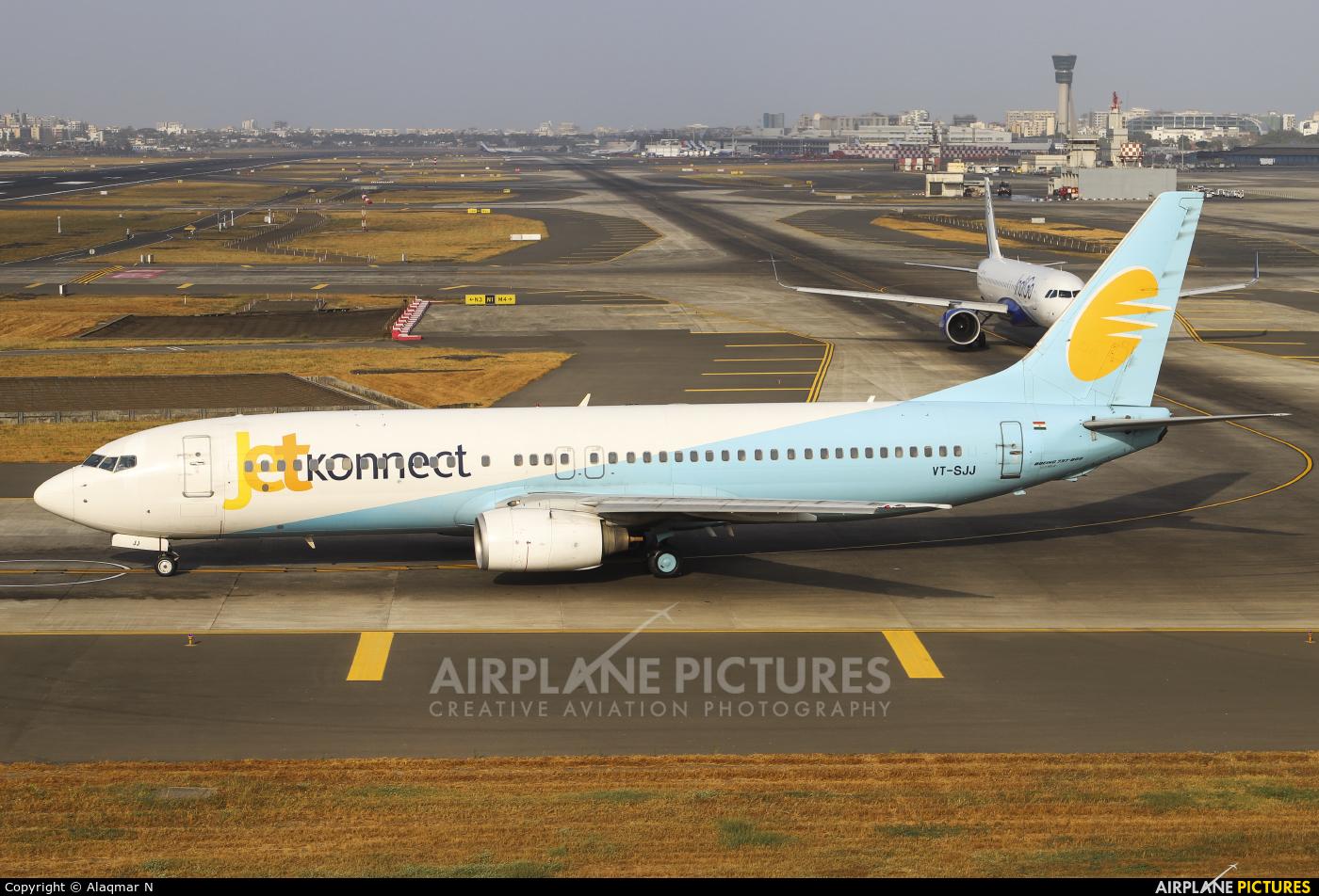 JetKonnect VT-SJJ aircraft at Mumbai - Chhatrapati Shivaji Intl