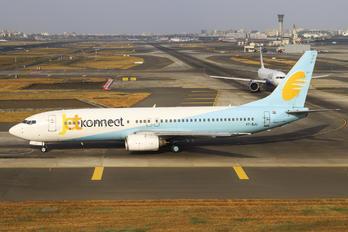 VT-SJJ - JetKonnect Boeing 737-800