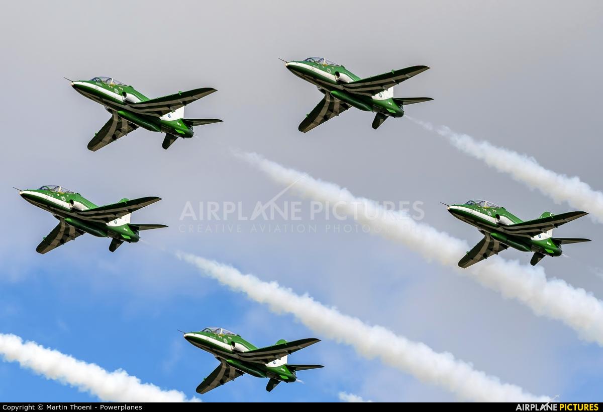 Saudi Arabia - Air Force: Saudi Hawks 8817 aircraft at Leopoldsburg - Beverlo