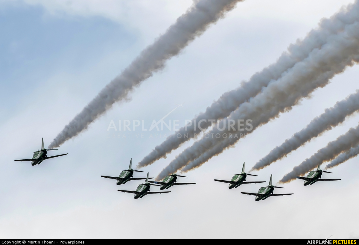 Saudi Arabia - Air Force: Saudi Hawks 8808 aircraft at Leopoldsburg - Beverlo