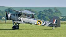 "W5856 - Royal Navy ""Historic Flight"" Fairey Swordfish II aircraft"