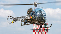 OE-XDM - Red Bull Bell 47 aircraft