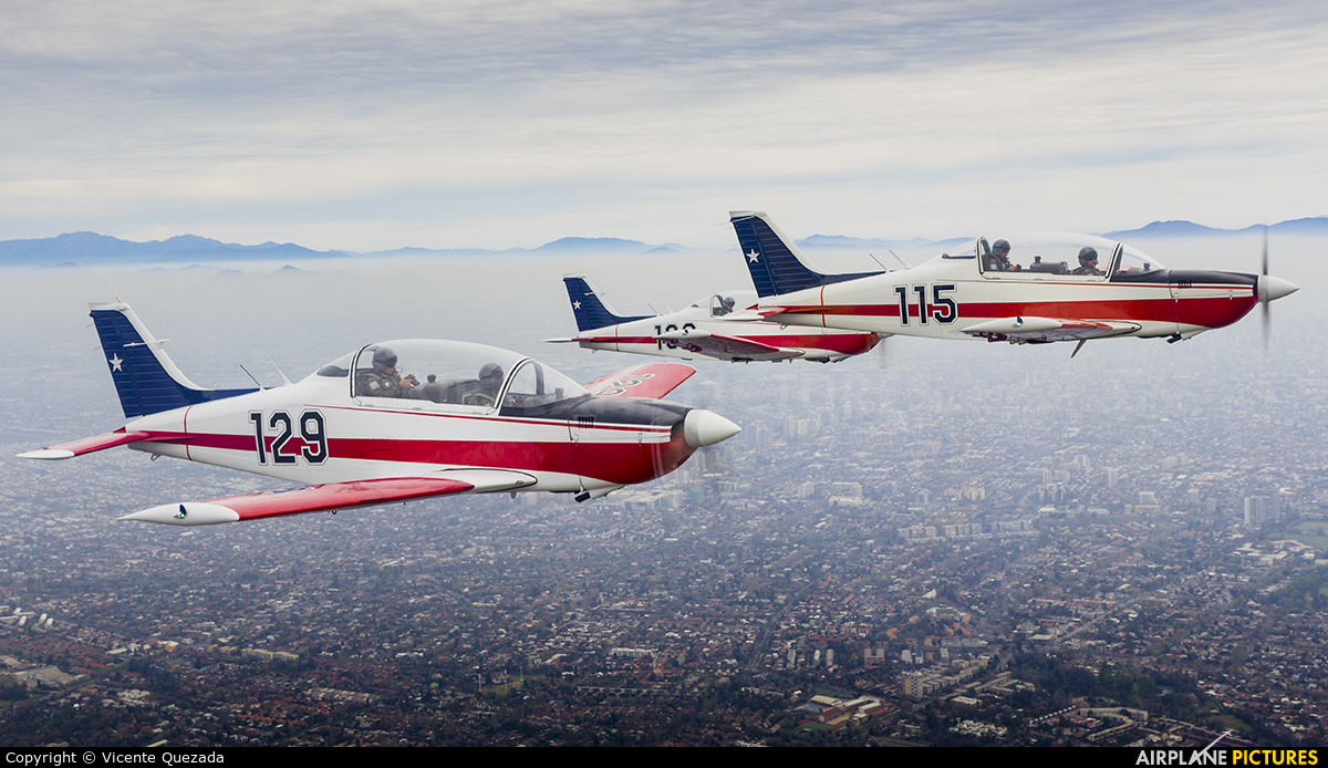 Chile - Air Force 129 aircraft at In Flight - Chile