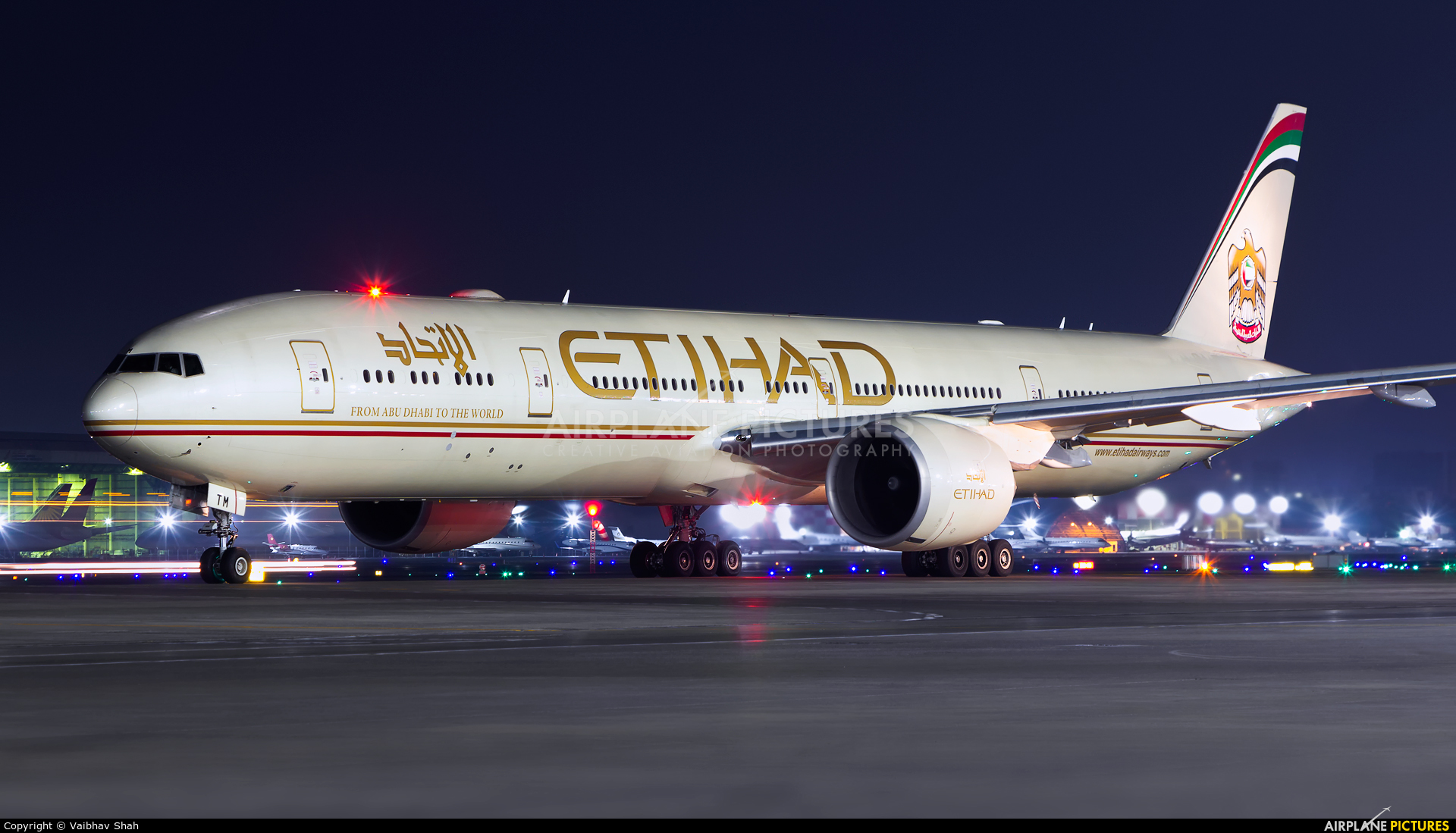 Etihad 777 first class