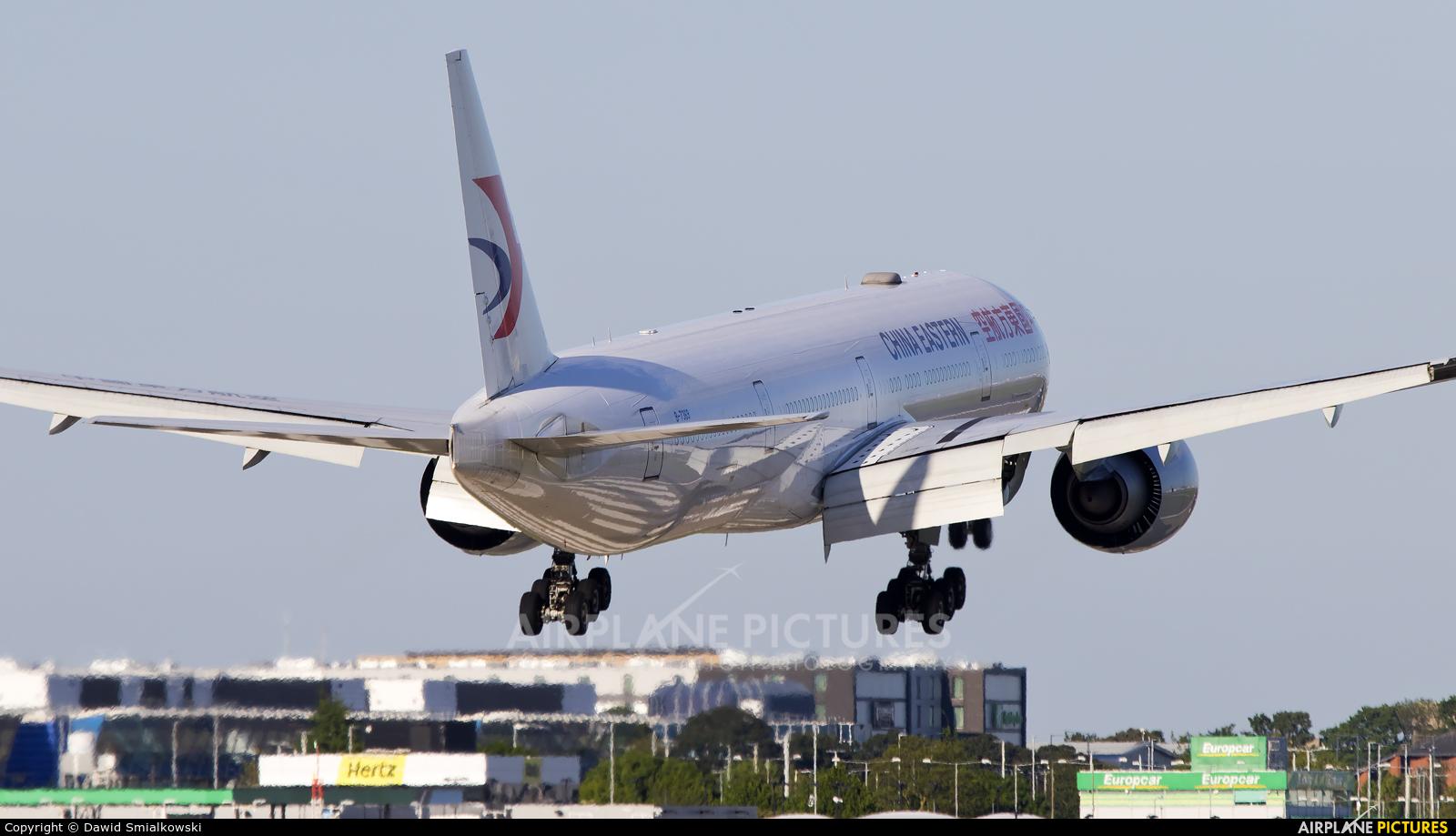 China Eastern Airlines B-7369 aircraft at London - Heathrow