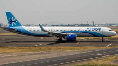 XA-NEO - Interjet Airbus A321 NEO