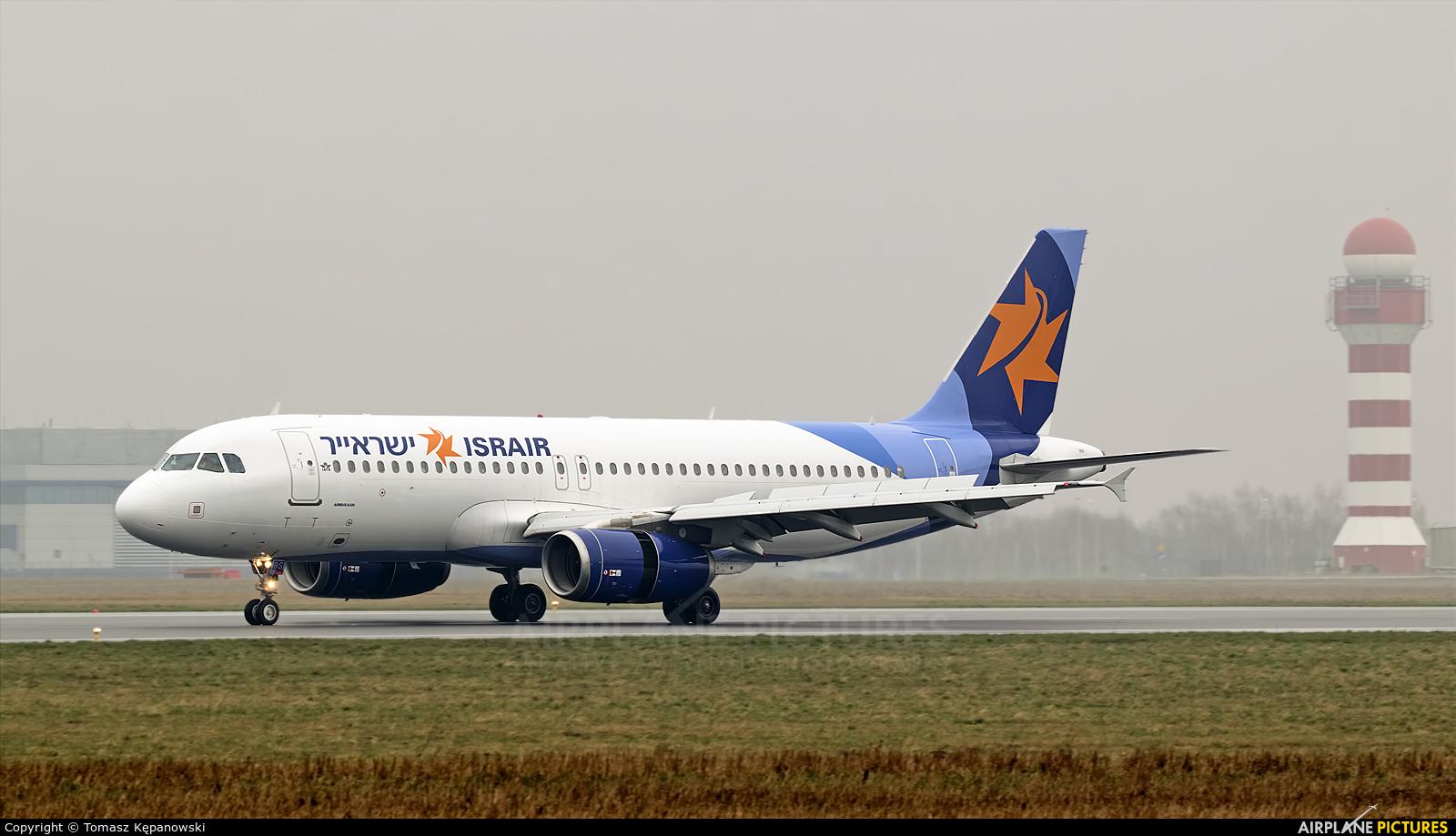 Israir Airlines 4X-ABS aircraft at Rzeszów-Jasionka