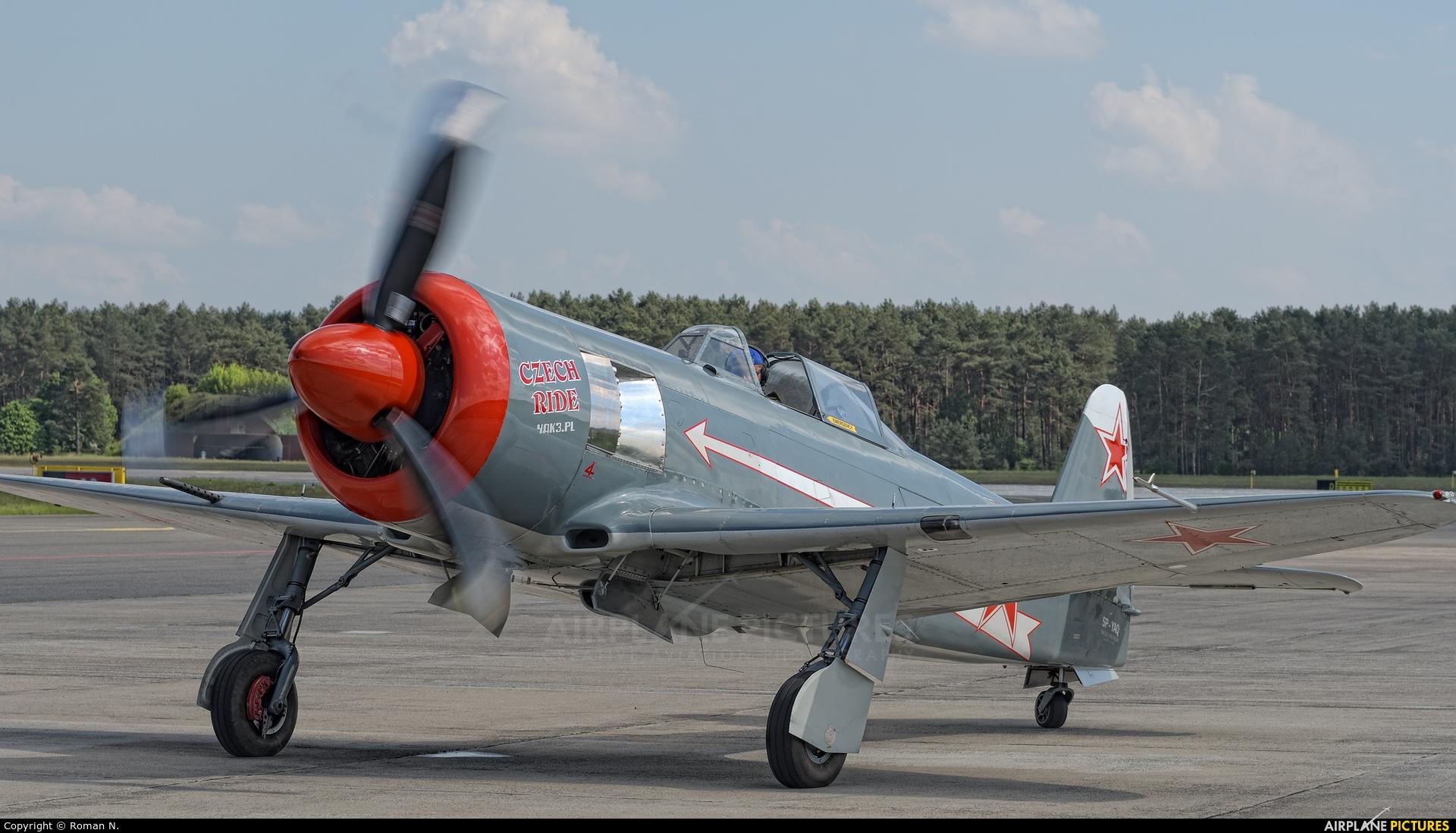 Private SP-YAQ aircraft at Bydgoszcz - Szwederowo